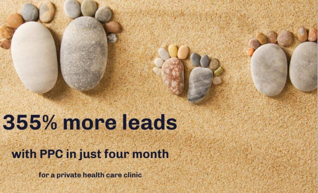 355% Increase in PPC Leads in Four Months