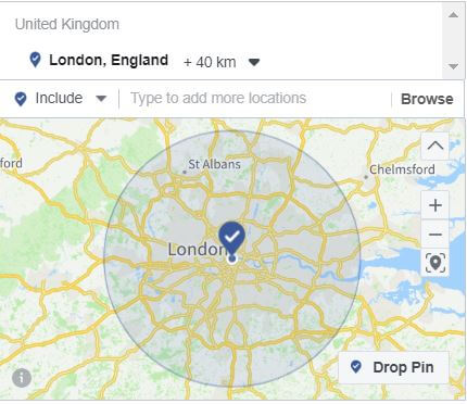 Wealthy Facebook Locations
