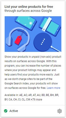 Enable Surfaces Across Google