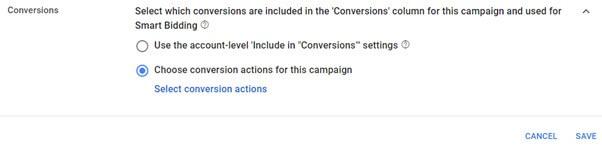 Conversion Action
