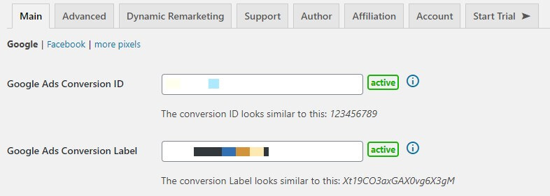 Conversion Tracking with Revenue Setup With Woopt