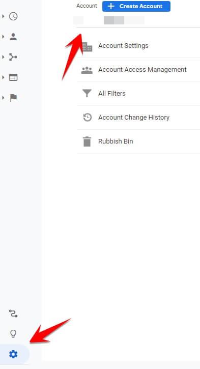 Google Analytics Account ID